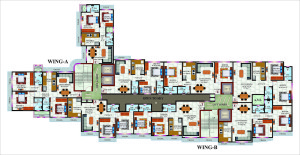 vardhman Empire floor plan